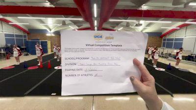 Plymouth Whitemarsh High School [Game Day Large Varsity - Non Tumble] 2021 UCA January Virtual Challenge