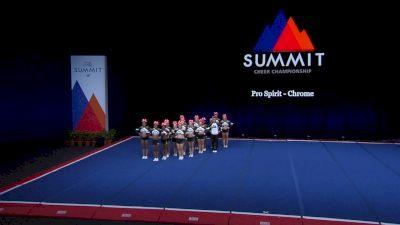 Pro Spirit - Chrome [2021 L4.2 Senior Coed - Small Finals] 2021 The Summit