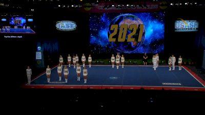 Top Gun All Stars - Orlando - Angels [2021 L6 Senior Open Small Coed Finals] 2021 The Cheerleading Worlds