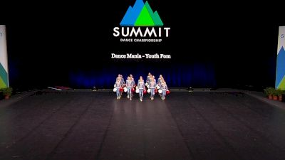 Dance Mania - Youth Pom [2021 Youth Pom - Large Finals] 2021 The Dance Summit