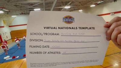 Bellefonte Area High School [Virtual Super Varsity Non Tumbling Game Day Finals] 2021 UCA National High School Cheerleading Championship