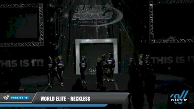 World Elite - Reckless [2021 L1 Youth - Small Day 1] 2021 The U.S. Finals: Louisville