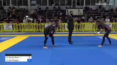 Bárbara Gomes Pires vs Catherine Ann Dougan 2021 Pan IBJJF Jiu-Jitsu No-Gi Championship