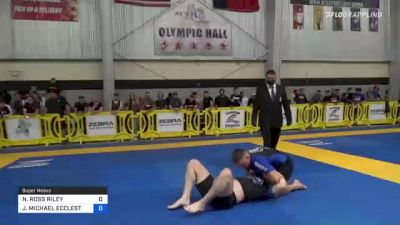 NICHOLAS ROSS RILEY vs JOSHUA MICHAEL ECCLESTON 2021 Pan IBJJF Jiu-Jitsu No-Gi Championship