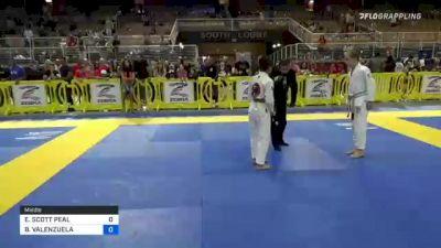 ETHAN SCOTT PEAL vs BRYAN VALENZUELA 2021 Pan Kids Jiu-Jitsu IBJJF Championship