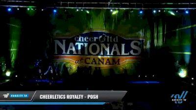 Cheerletics Royalty - POSH [2021 L3 - U17 Day 1] 2021 Cheer Ltd Nationals at CANAM