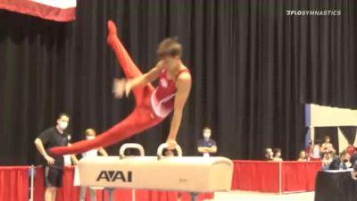 Alexandru Nitache - Pommel Horse, GymTek Academy - 2021 USA Gymnastics Development Program National Championships