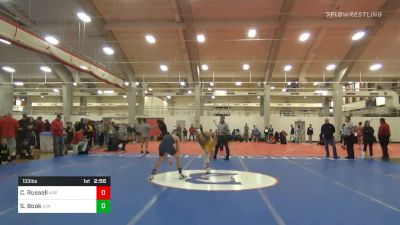 Quarterfinal - Codi Russell, Appalachian State vs Samuel Book, Virginia