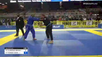 NATHANIEL CLARENCE BRYANT vs PAUL THOMAS VANN 2021 Pan Jiu-Jitsu IBJJF Championship