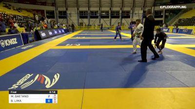 MARIO GAETANO vs BRENO LIMA 2019 Pan Kids Jiu-Jitsu IBJJF Championship