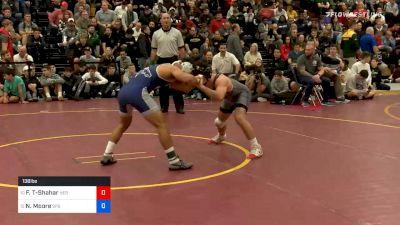 138lbs Semifinal: Frankie Tal-Shahar, American Heritage vs Nick Moore, St. Paris Graham