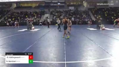 157 lbs Quarterfinal - David Hollingsworth, Wartburg College vs Nick Barnhart, Messiah University