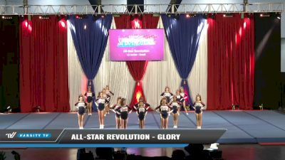 All-Star Revolution - Glory [2021 L2 Senior - Small Day 1] 2021 The American Spectacular DI & DII