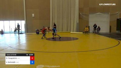 57 kg Consi Of 8 #2 - Gregory Coapstick, Jackrabbit Wrestling Club vs Van Schmidt, MWC Wrestling Academy