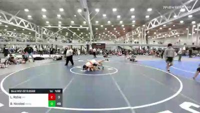 148 lbs Rr Rnd 2 - Luke Robie, Virginia Elite vs Brent Nicolosi, NE Hammer Shack