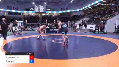 79 kg Prelims - Mason Manville, TMWC/ Nittany Lion Wrestling Club vs Dylan Lydy, Indiana
