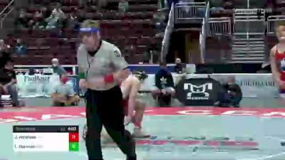 215 lbs Semifinal - Josh Harkless, Wilson vs Logan Harmon, Armstrong