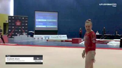 Elsabeth Black - Floor, Halifax ALTA Gymnastics Club - 2019 Elite Canada - WAG