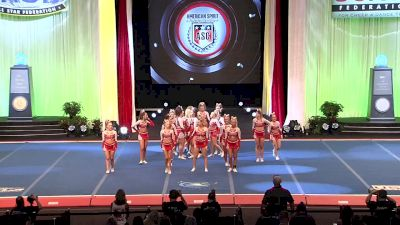KC Cheer - FEARLESS [2019 L5 Senior Small All Girl Prelims] 2019 The Cheerleading Worlds