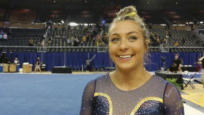 Interview: Olivia Karas, Michigan - Regional Final, 2019 NCAA Ann Arbor Regional Championship