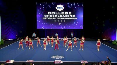 Coastal Alabama Community College [2020 Small Coed Division II Finals] 2020 UCA & UDA College Nationals