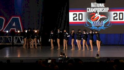 Smithtown High School West Varsity Whisperettes [2020 Medium Varsity Kick Prelims] 2020 NDA High School Nationals