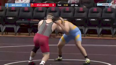 285lbs Match: Christian Colucci, Rutgers vs Timothy Nagosky, Long Island