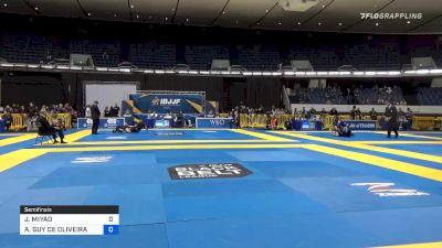 JOÃO MIYAO vs ANTHONY GUY DE OLIVEIRA 2019 World IBJJF Jiu-Jitsu No-Gi Championship