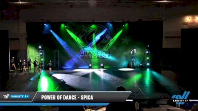 Power of Dance - Spica [2021 Youth Coed - Pom Day 2] 2021 CSG Dance Nationals