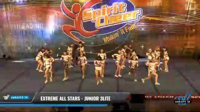 Extreme All Stars - JUNIOR 3LITE [2021 L3 Junior - D2 - Medium Day 2] 2021 South Florida DI & DII Nationals