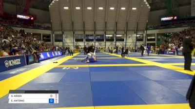 GABRIEL ARGES vs EDSON ANTONIO 2018 World IBJJF Jiu-Jitsu Championship