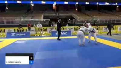 CASIDY MARIE WELCH vs NAARAH N HASTINGS 2020 World Master IBJJF Jiu-Jitsu Championship