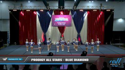 Prodigy All Stars - Blue Diamond [2021 L2 Junior - Small Day 2] 2021 The American Spectacular DI & DII