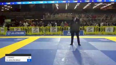 JAVIER GOMEZ vs BRUNO AYOLPHI BRAZ 2021 Pan Jiu-Jitsu IBJJF Championship