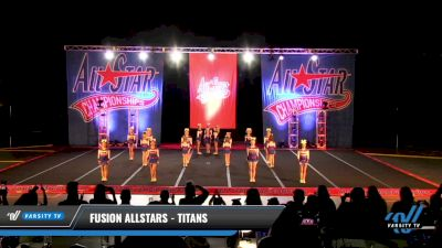 Fusion Allstars - Titans [2021 L2 Youth - D2 - Small Day 3] 2021 ASCS: Tournament of Champions & All Star Prep Nationals