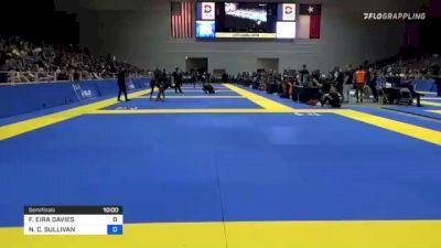 FFION EIRA DAVIES vs NICOLE C. SULLIVAN 2021 World IBJJF Jiu-Jitsu No-Gi Championship