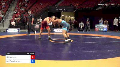 70 kg Quarters - Brayton Lee, Gopher Wrestling Club - RTC vs Alec Pantaleo, Titan Mercury Wrestling Club