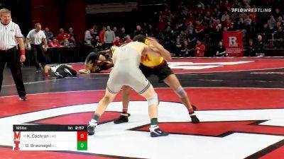 165 lbs Prelims - Kyle Cochran, Maryland vs Danny Braunagel, Illinois