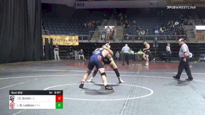 235 lbs 5th Place - David Smith, Liberty University vs Dominic Ledoux, Springfield Technical Community College