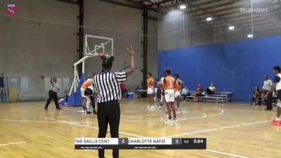 CHARLOTTE NATION vs. THE SKILLS CENTER - 2021 AAU Boys World Championships (14U/8th Grade)