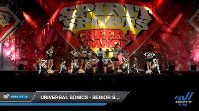 Universal Sonics - Senior Supreme [2020 L5 Senior Coed - D2 Day 2] 2020 Spirit Sports: Duel In The Desert