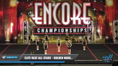 Elite Heat All-Stars - Golden Nuggets [2021 L1 Tiny - Novice - Restrictions Day 1] 2021 Encore Championships: Pittsburgh Area DI & DII