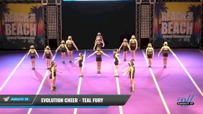 Evolution Cheer - Teal Fury [2021 L1 Youth - D2 Day 2] 2021 ACDA: Reach The Beach Nationals