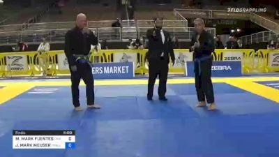 MAXIMO MARK FUENTES vs JON MARK MEUSER 2020 World Master IBJJF Jiu-Jitsu Championship