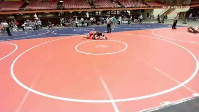 170 lbs 2nd Place - Barrett Schneck, Milbank vs Graydon Bakke, Central Cobblers