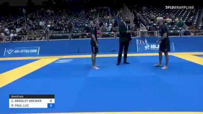 CHRISTOPHER BRADLEY BREWER vs ROBERT PAUL LUC 2021 World IBJJF Jiu-Jitsu No-Gi Championship