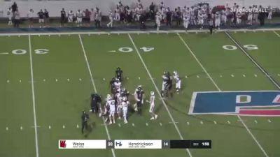 Replay: Weiss HS vs Hendrickson HS - 2021 Weiss vs Hendrickson | Sep 24 @ 9 PM