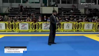 CAMERON JACOB MELLOTT vs JOÃO MÁRCIO FERREIRA DOS SANTOS 2021 Pan IBJJF Jiu-Jitsu No-Gi Championship