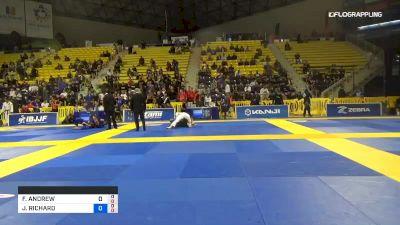 FELLIPE ANDREW LEANDRO SILVA vs JAMES RICHARD PUOPOLO 2019 World Jiu-Jitsu IBJJF Championship