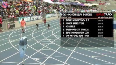 Boys' 4x100m Relay, Final - Age 8 & Under